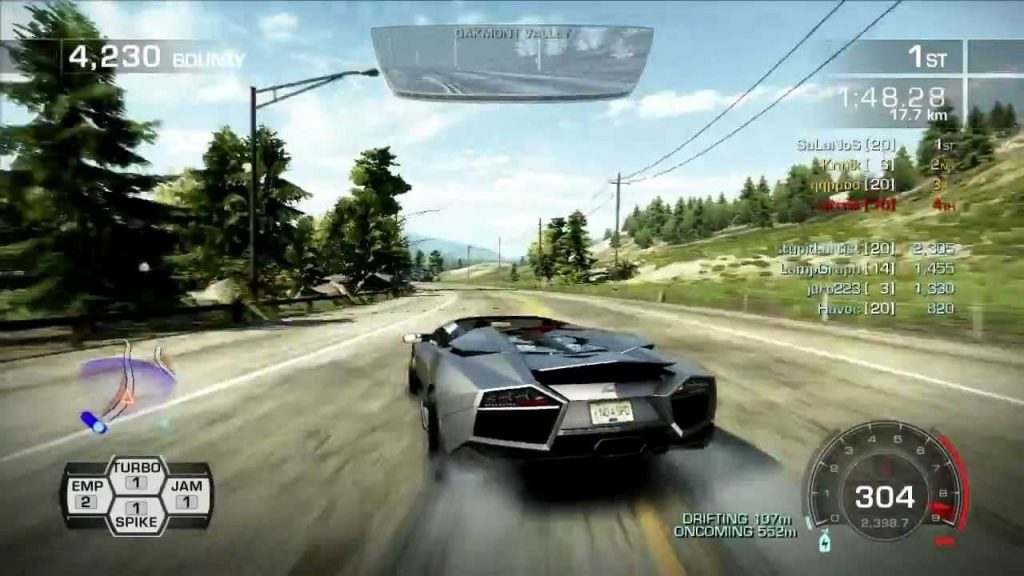 Need for Speed Hot Pursuit 9 1024x576 - نقد و بررسی کامل بازی Need For Speed: Hot Pursuit