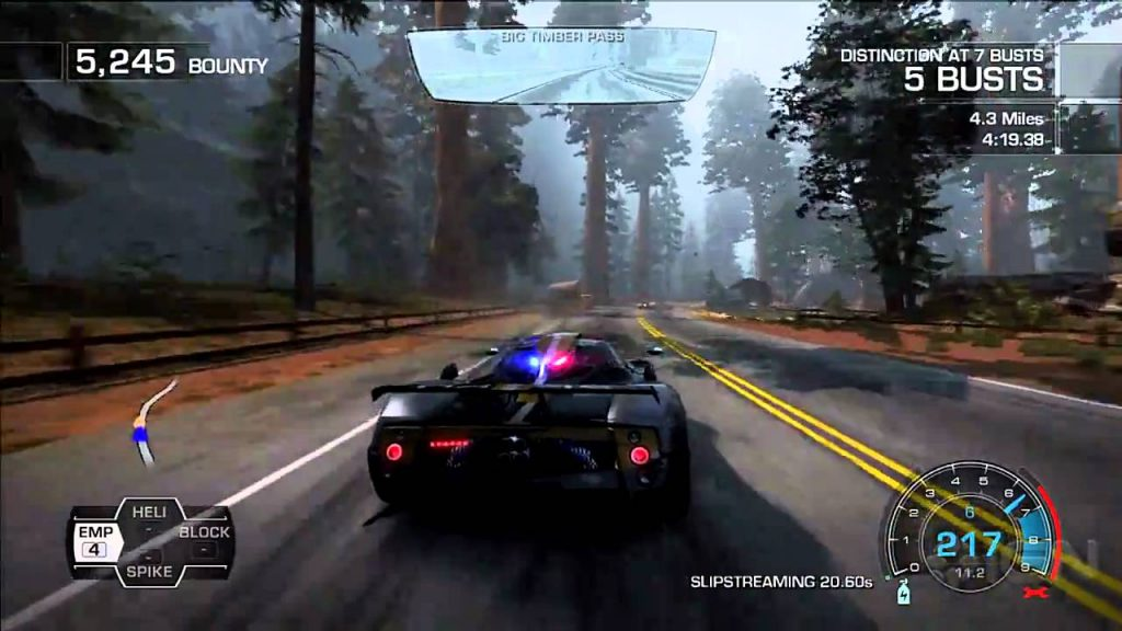 Need for Speed Hot Pursuit police mod 1024x576 - نقد و بررسی کامل بازی Need For Speed: Hot Pursuit