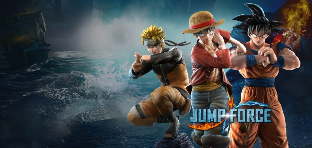 jump force title top visual 1920x912 final logo 1024x486 - معرفی بازی jump force