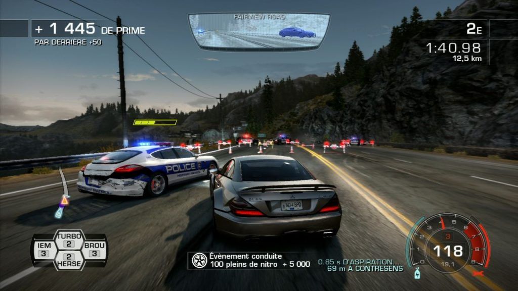 need for speed hot pursuit xbox 360 1024x576 - نقد و بررسی کامل بازی Need For Speed: Hot Pursuit